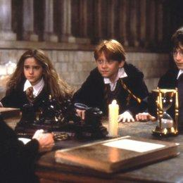 Harry Potter und der Stein der Weisen / Daniel Radcliffe / Emma Watson / Rupert Grint / Maggie Smith Poster