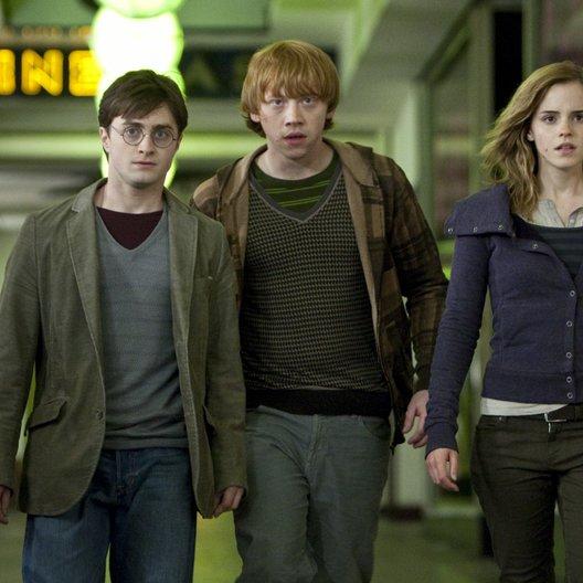 Harry Potter und die Heiligtümer des Todes Teil 1 / Daniel Radcliffe / Rupert Grint / Emma Watson Poster