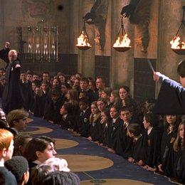 "Harry Potter und die Kammer des Schreckens / Alan Rickman ""Professor Severus Snape""/ Tom Felton ""Draco Malfoy"" / Daniel Radcliffe ""Harry Potter"""