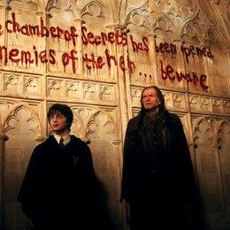"""Harry Potter und die Kammer des Schreckens / Daniel Radcliffe """"Harry Potter"""" / David Bradley """"Argus Filch"""" Poster"""