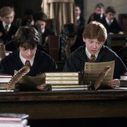 """Harry Potter und die Kammer des Schreckens / Daniel Radcliffe """"Harry Potter"""" / Kenneth Branagh """"Professor Gilderoy Lockhart"""" / Rupert Grint """"Ron Weasley"""" Poster"""