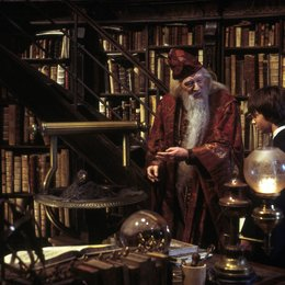 """Harry Potter und die Kammer des Schreckens / Richard Harris """"Albus Dumbledore"""" / Daniel Radcliffe """"Harry Potter"""" Poster"""