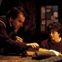 "Harry Potter und die Kammer des Schreckens / Set / Chris Columbus, Regisseur / Daniel Radcliffe ""Harry Potter"" Poster"