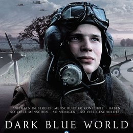 Dark Blue World Poster