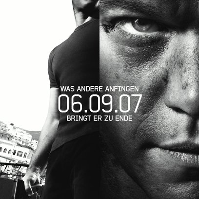 Bourne Ultimatum, Das Poster