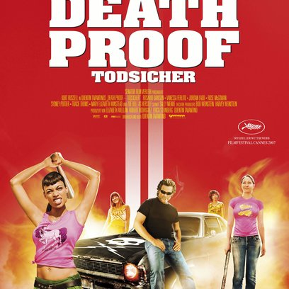 Quentin Tarantinos Death Proof - Todsicher / Death Proof - Todsicher Poster