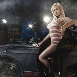 Death Race / dr mustang girl / Death Race Maedels Poster