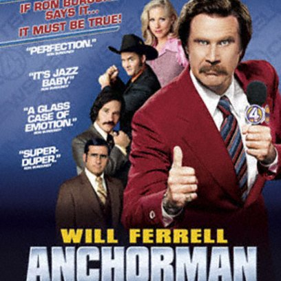 Anchorman - Die Legende von Ron Burgundy, Der Poster