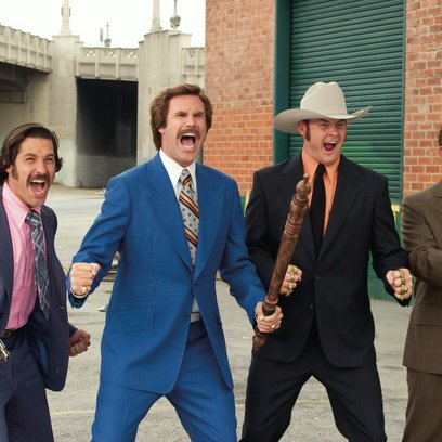 Anchorman - Die Legende von Ron Burgundy, Der / Paul Rudd / Will Ferrell / David Koechner / Steven Carell Poster