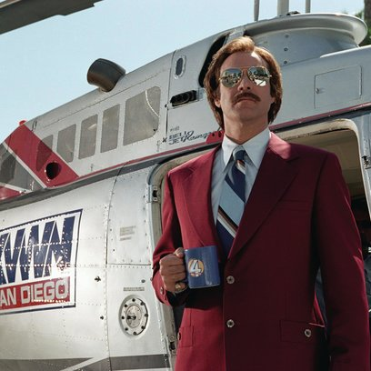 Anchorman - Die Legende von Ron Burgundy, Der / Will Ferrell Poster