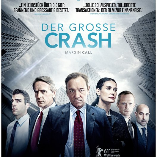 große Crash - Margin Call, Der Poster