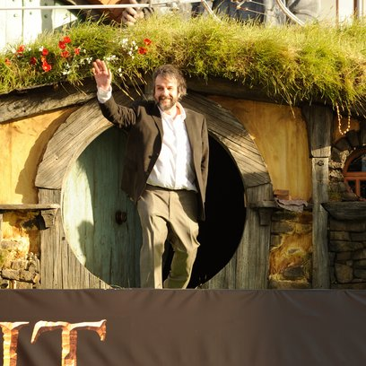 Hobbit: Eine unerwartete Reise, Der / Marketingtour / Peter Jackson Poster