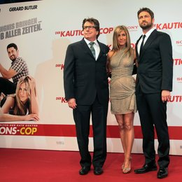 "Kautions-Cop, Der / Deutschlandpremiere des Kinofilms ""Der Kautions-Cop"", im CinemaxX, Berlin, 29.03.20 / Andy Tennant, Jennifer Aniston und Gerard Butler Poster"