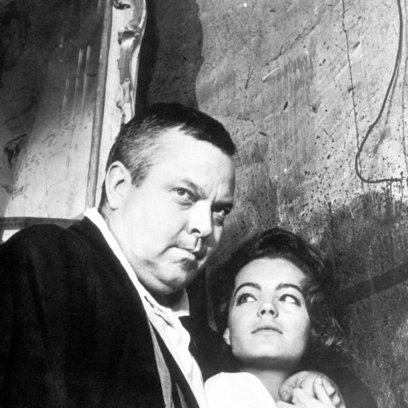 Prozeß, Der / Orson Welles / Romy Schneider Poster