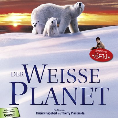 weiße Planet, Der / White Planet Poster
