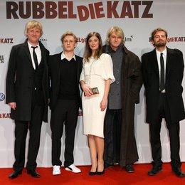 Henning Ferber (Film1), Matthias Schweighöfer, Alexandra Maria Lara, Detlev Buck und Marcus Welke (Film1) v.l. Poster
