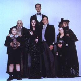 Addams Family in verrückter Tradition, Die Poster