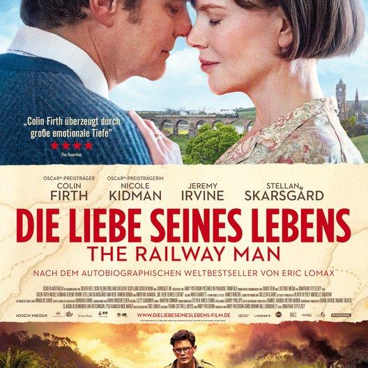 Liebe seines Lebens - The Railway Man, Die Poster