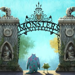 Monster Uni, Die Poster