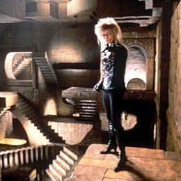 Reise ins Labyrinth, Die / David Bowie Poster