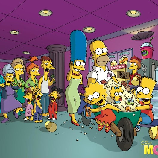 Simpsons - Der Film, Die Poster
