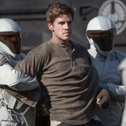 "Liam Hemsworth in ""Die Tribute von Panem - Catching Fire"" Poster"