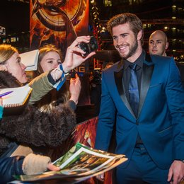 Tribute von Panem - Catching Fire, Die / Filmpremiere / Liam Hemsworth Poster