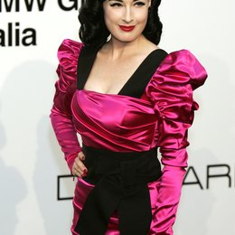 Teese, Dita von / amFar (American Foundation for Aids Research) Mailand 2009 Poster