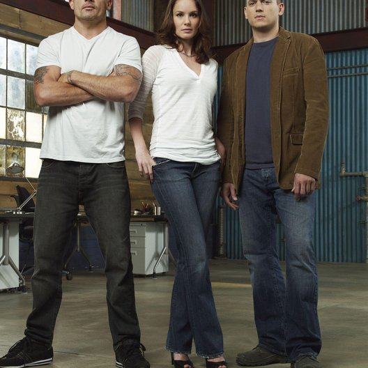 Prison Break (4. Staffel, 22 Folgen) / Wentworth Miller / Dominic Purcell / Sarah Wayne Callies Poster