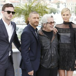 Hoult, Nicholas / Hardy, Tom / Miller, George / Theron, Charlize / 68. Internationale Filmfestspiele von Cannes 2015 / Festival de Cannes