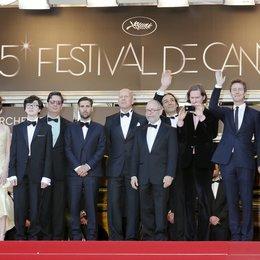 Swinton, Tilda / Hayward, Kara / Gilman, Jared / Coppola, Roman / Schwartzman, Jason / Willis, Bruce / Balaban, Bob / Anderson, Wes / Norton, Edward / Murray, Bill / 65. Filmfestspiele Cannes 2012 / Festival de Cannes Poster