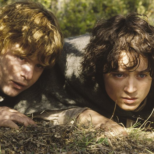 Herr der Ringe - Die zwei Türme, Der / Sean Astin / Elijah Wood / Lord of the Rings II: The Two Towers, The