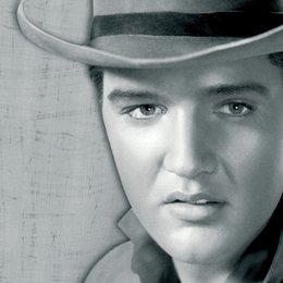 Flammender Stern / Elvis Presley Poster