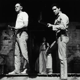 Flammender Stern / John McIntire / Elvis Presley Poster