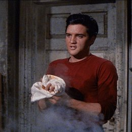 Lied des Rebellen, Das / Elvis Presley Poster