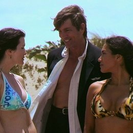 Miss Cast Away and The Island Girls / Eric Roberts Poster