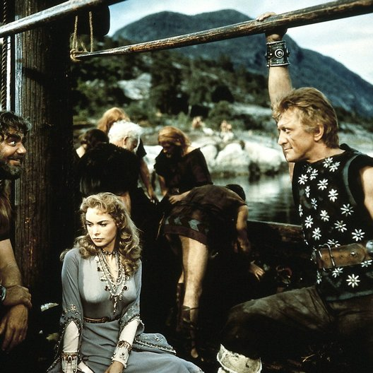 Wikinger, Die / Kirk Douglas / Ernest Borgnine / Janet Leigh Poster