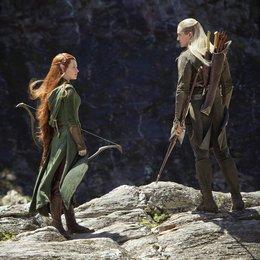 Hobbit: Smaugs Einöde, Der / Evangeline Lilly / Orlando Bloom Poster