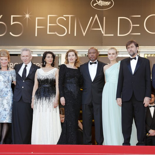Jury / Payne, Alexander / Arnold, Andrea / Gaultier, Jean-Paul / Abbass, Hiam / Devos, Emmanuelle / Peck, Raoul / Kruger, Diane / Moretti, Nanni / Mcgregor, Ewan / 65. Filmfestspiele Cannes 2012 / Festival de Cannes Poster