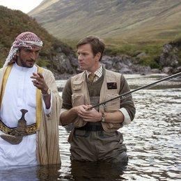 Lachsfischen im Jemen / Amr Waked / Ewan McGregor Poster