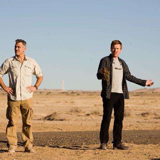 Männer, die auf Ziegen starren / George Clooney / Ewan McGregor Poster