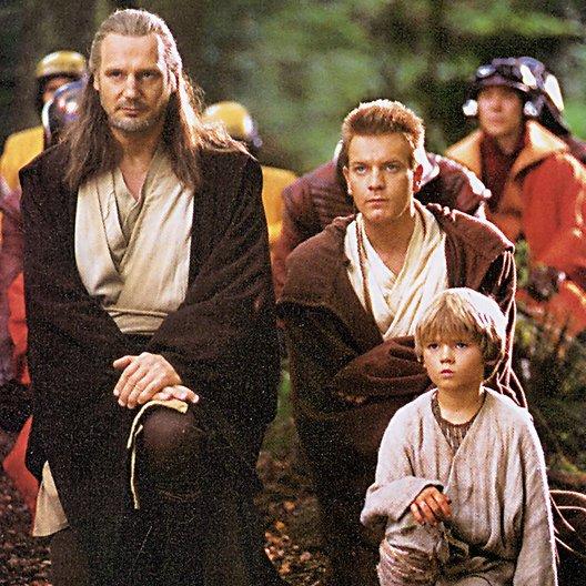 Star Wars: Episode 1 - Die dunkle Bedrohung / Liam Neeson / Ewan McGregor / Jake Lloyd Poster