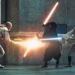 Star Wars: Episode 1 - Die dunkle Bedrohung / Liam Neeson / Ewan McGregor / Star Wars: Complete Saga I-VI Poster