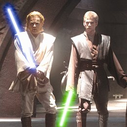 Star Wars: Episode II - Angriff der Klonkrieger / Ewan McGregor / Hayden Christensen Poster