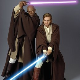 Star Wars: Episode II - Angriff der Klonkrieger / Samuel L. Jackson / Star Wars: Episode II - Attack of the Clones Poster