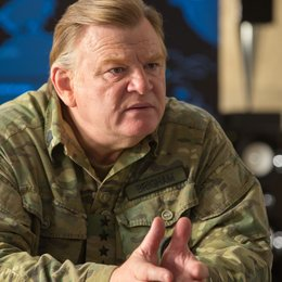 Edge of Tomorrow / Brendan Gleeson Poster