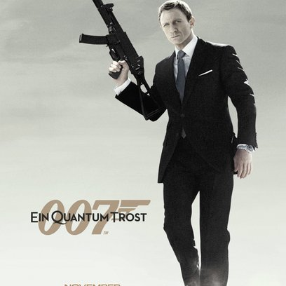 James Bond 007: Ein Quantum Trost Poster