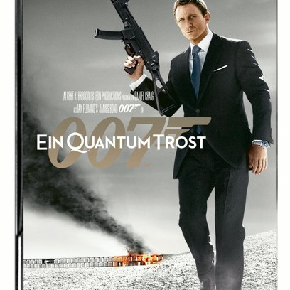 James Bond 007: Ein Quantum Trost / James Bond 007 - Ein Quantum Trost / Rückseite des Steelbook Poster
