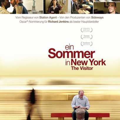 Sommer in New York - The Visitor, Ein Poster