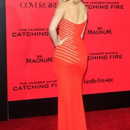 "Elizabeth Banks / Filmpremiere ""Die Tribute von Panem - Catching Fire"" Poster"